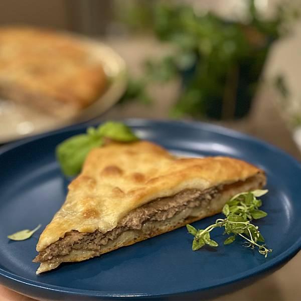 Fiddjin - Ossetian pie with minced beef