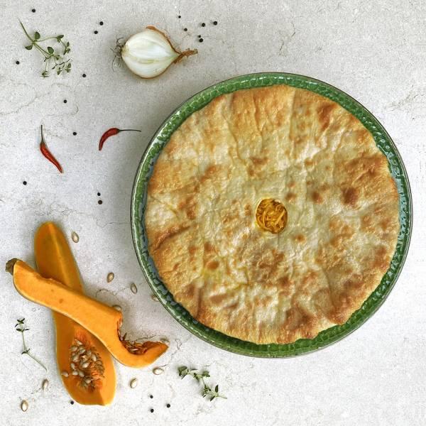 Nasdjin - Ossetian Pie with pumpkin