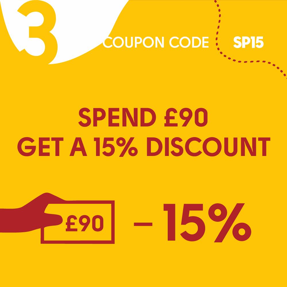 15% Discount deal