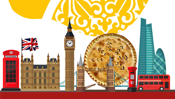 UK, London, Ossetian Pies