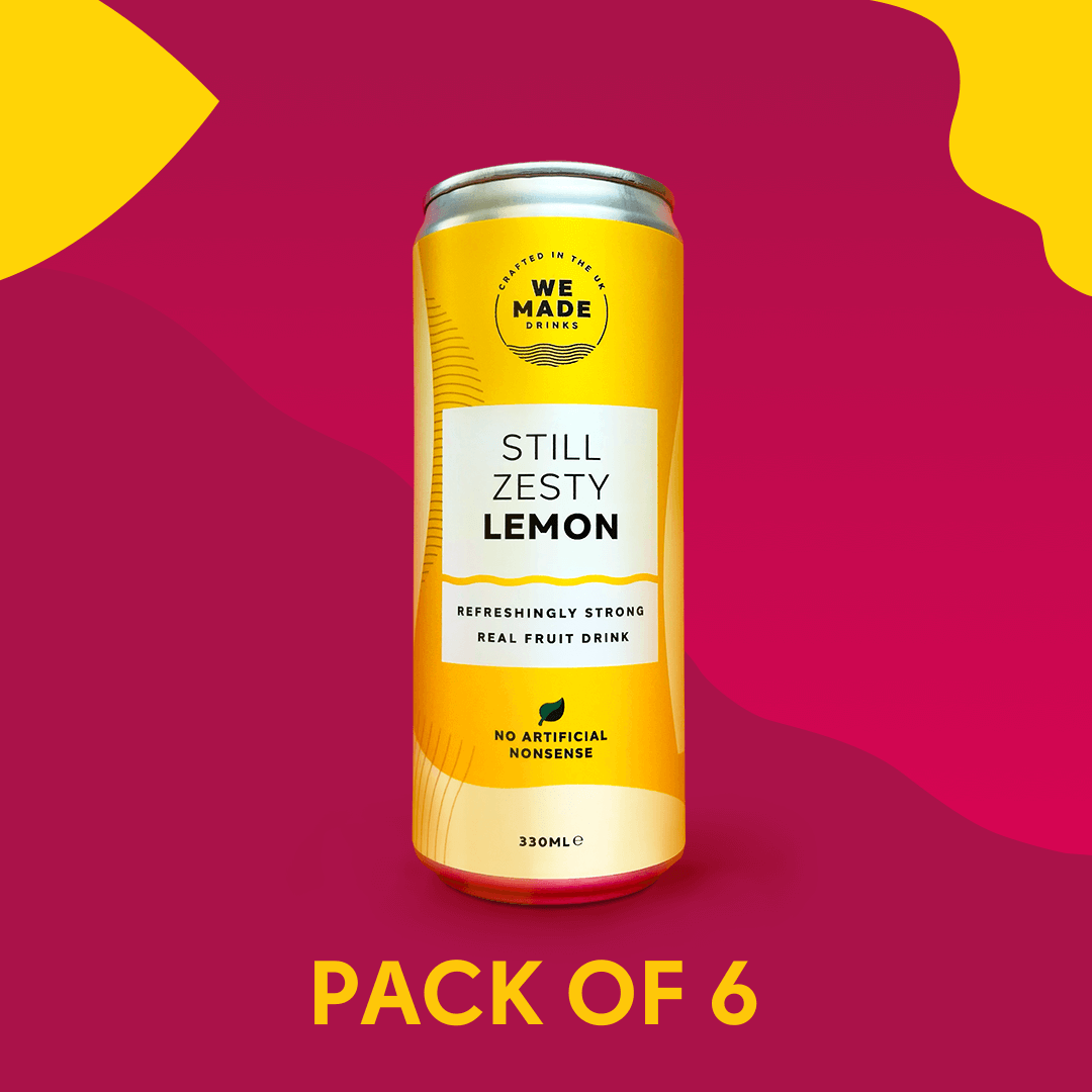 Still Zesty Lemon 6 pack
